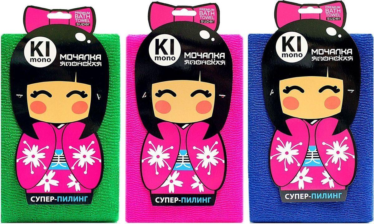 Мочалка-полотенце Eva Kimono. М3413 big rectangle tampo pads
