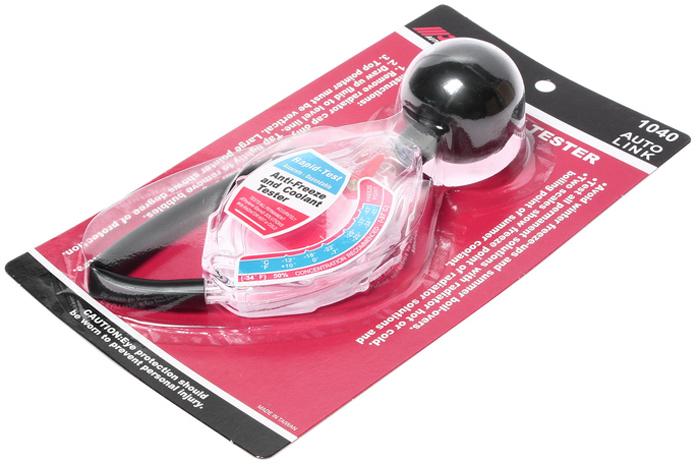 Тестер плотности антифриза JTC. JTC-1040JTC-1040Тестер плотности антифриза JTC предназначен для измерения концентрации этиленгликоля в антифризе при холодном или горячем радиаторе. Применение прибора позволяет избежать замерзания или закипания антифриза.Имеет две шкалы для определения точек замерзания и кипения антифриза.Габаритные размеры: 260/150/50 мм (Д/Ш/В).Вес: 111 г.