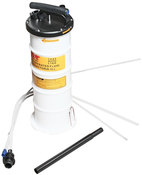 JTC Приспособление для откачки технических жидкостей с ручным приводом, 6, 5 л. JTC-1045JTC-1045Объем: 6.5 л.Применяется для перекачки технических жидкостей с помощью вакуума вручную.Имеет специальную запатентованную конструкцию для создания вакуума.Предусмотрено место для хранения трубок.Размеры: B - Ø 10х1000 мм; C - Ø 7х1000 мм; D - Ø 6х1000 мм.Габаритные размеры: 550/200/200 мм. (Д/Ш/В)Вес: 3000 гр.