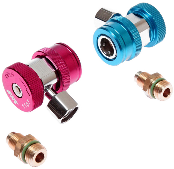 JTC Соединитель быстросъемный для манометрического коллектора, 2 шт. JTC-1107JTC-1107ОписаниеВ комплект входит 2 соединителя: для линий высокого и низкого давления.Конструкция соединителя позволяет использовать различные адаптеры.Количество в оптовой упаковке: 5 шт. и 50 шт.Габаритные размеры: 140/90/70 мм. (Д/Ш/В)Вес: 350 гр.