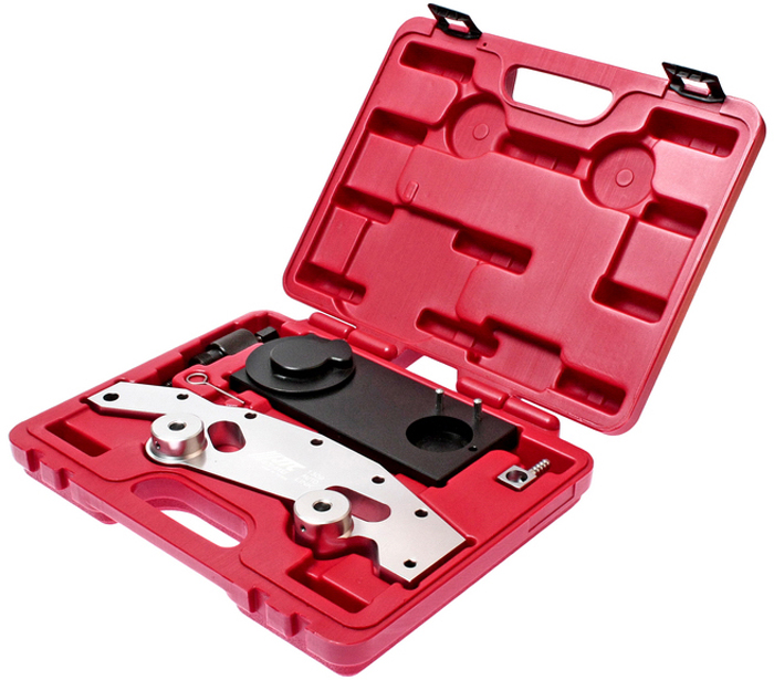 JTC Фиксатор распредвала BMW (M52TU/M54/M56). JTC-1309JTC-1309Применяется совместно с JTC-1807 для фиксации распредвала по установочным меткам.Применяется для регулировки двигателя перед его сборкой.Применение: автомобили БМВ (BMW) с типом двигателя M52TU, M54, M56.Упаковка: прочный переносной кейс.Габаритные размеры: 320/260/60 мм. (Д/Ш/В)Вес: 2435 гр.