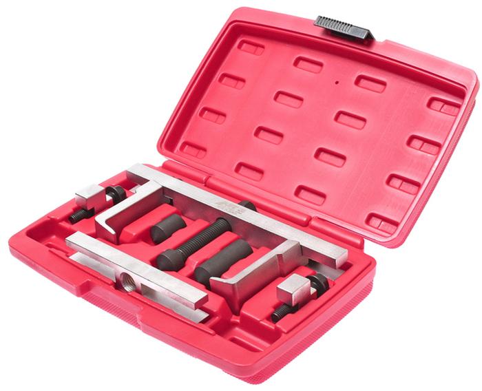JTC Съемник шкивов двухзахватный. JTC-1350JTC-1350Подходит для использования в ограниченном пространстве.Конструкция предусматривает легкую замену элементов съемника (захватов), что позволяет использовать приспособление для различных марок автомобилей.Длина губок: 72/95 мм.Глубина захвата: 18 мм., ширина: 4.4 мм.Количество в оптовой упаковке: 10 шт.Упаковка: прочный пластиковый кейс.Габаритные размеры: 270/180/55 мм. (Д/Ш/В)Вес: 2455 гр.