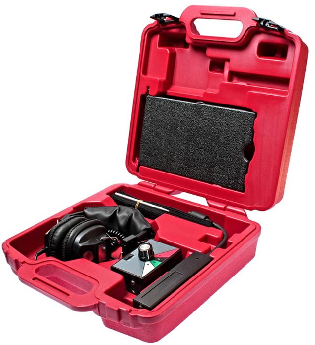 JTC Стетоскоп электронный. JTC-1449JTC-1449Применяется для нахождения шума износившейся детали, может применяется во время дорожных испытаний. Чувствительный микрофон и наличие наушников обеспечивают более точную диагностику. В комплекте:Универсальная рукоятка - 1 шт. Удобные наушники - 1 шт. Канальный сенсорный переключатель диапазонов - 4 шт. Сенсоры, кабель 4.8 мм. - 4 шт.Упаковка: прочный переносной кейс. Габаритные размеры: 380/350/125 мм. (Д/Ш/В) Вес: 2588 гр.
