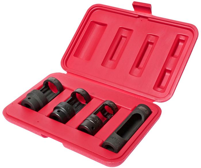 JTC Набор головок для кислородных датчиков. JTC-1543JTC-1543Набор головок для снятия датчика кислорода. В комплекте (квадрат присоединения 1/2;): 28 мм. (12-гранная длина 78 мм.) 27 мм. (12-гранная длина 82 мм.) 22 мм. (12-гранная длина 80 мм.) 22 мм. (6-гранная длина 108 мм.)Общее количество предметов: 4 шт. Упаковка: прочный переносной кейс. Количество в оптовой упаковке: 10 шт. Габаритные размеры: 245/165/45 мм. (Д/Ш/В) Вес: 1160 гр.