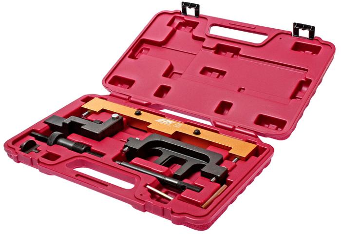 JTC Набор фиксаторов распредвала для установки фаз ГРМ BMW N42, N46, N46T /1/5-1558A. JTC-1558AJTC-1558AПредназначен для установки и снятия распредвала или его различных элементов.Применяется для проверки и установки фаз ГРМ.Используется в автомобилях БМВ (BMW): E87: 118i/120i-N46; E46: 316i/316ti/318i-N42; E90/E91: 318i/320i-N46; E85: Z4, 2.0L-N46.Упаковка: прочный переносной кейс.Количество в оптовой упаковке: 5 шт.Габаритные размеры: 330/220/45 мм. (Д/Ш/В)Вес: 2386 гр.