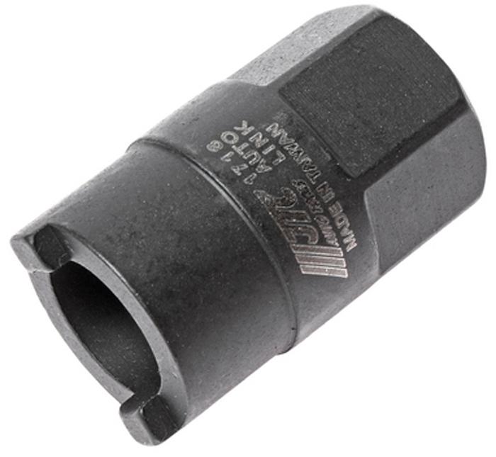 JTC Головка для верхней гайки крепления амортизатора (Volkswagen, Audi). JTC-1718JTC-1718Используется для снятия и установки стопорной гайки на большинстве автомобилей Фольксваген (Volkswagen), Ауди (Audi). Головка 6-гранная: 22 мм.Количество в оптовой упаковке: 10 шт. и 200 шт.Габаритные размеры: 120/65/30 мм. (Д/Ш/В)Вес: 75 гр.