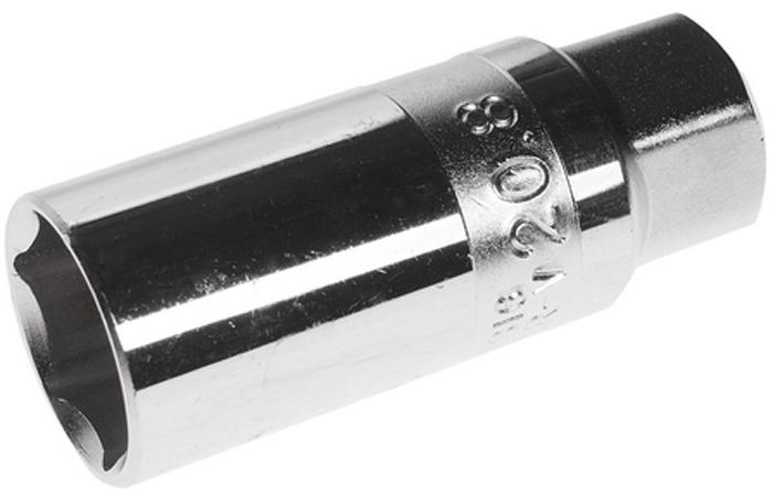 """JTC Головка свечная магнитная 6-гранная 3/8 х 21 мм. JTC-1816JTC-1816Применяется для работы со свечами зажигания двигателей внутреннего сгорания.Оснащена встроенным магнитом, который служит для фиксации свечи в головке.12 граней, метрический размер.Изготовлена из закаленной хром-ванадиевой стали.Размер: 3/8Dr""""х21 мм.Габаритные размеры: 70/30/30 мм. (Д/Ш/В)Вес: 170 гр."""