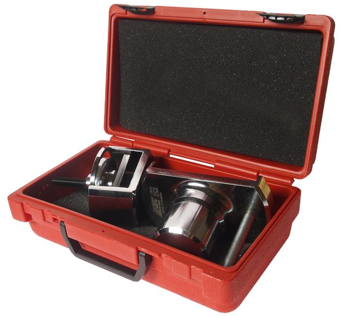 JTC Инструмент для ремонта АКПП серия коробки 722, 6 (Mercedes). JTC-1846JTC-1846Муфта применяется для сборки узлов передачи заднего хода. В комплект входит приспособление для монтажа стопорного кольца на фиксаторе пружины муфты К1 и К2. Применение: АКПП 722.6, 722.9. Габаритные размеры: 290/160/140 мм. (Д/Ш/В) Вес: 4040 гр.