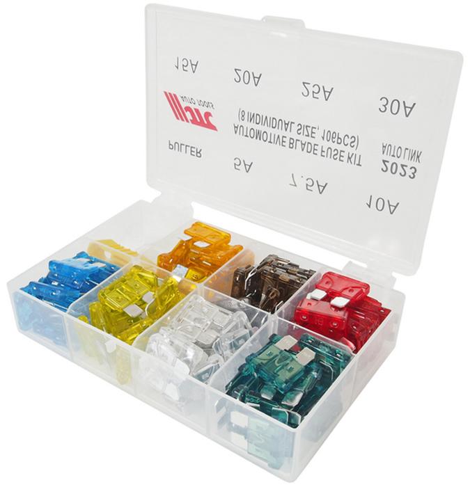 JTC Набор предохранителей плоских 5-30А, 106 шт. JTC-2023JTC-2023В комплекте:Размеры: 5А, 7.5А, 10А, 15А, 20А, 25А, 30А х15 шт. каждого размера. Съемник - 1 шт.Всего: 106 шт. Упаковка: прочный пластиковый бокс с ячейками. Габаритные размеры:135/95/35 мм. (Д/Ш/В) Вес: 150 гр.