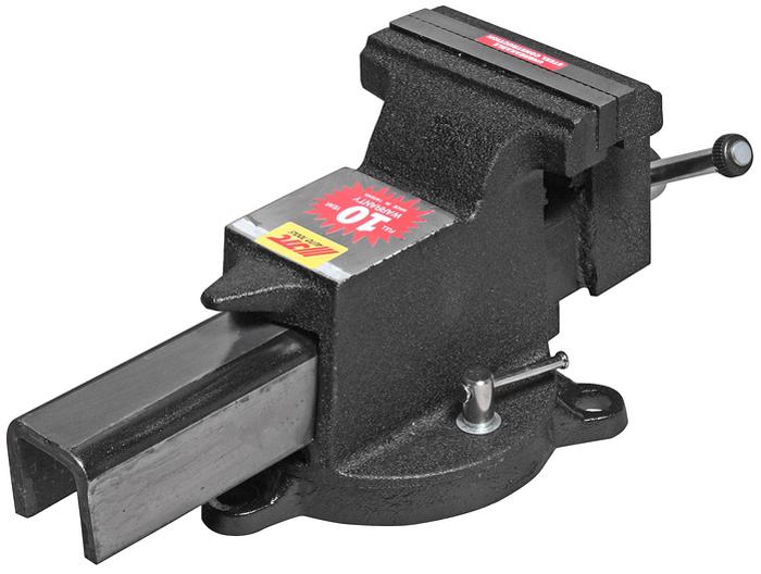 JTC Тиски слесарные поворотные. JTC-3122JTC-3122Тиски поворотные JTCОписаниеИзготовлены из легированной стали. Специальная конструкция с поворотным основанием позволяет регулировать и фиксировать тиски в нужном направлении. Ширина губок: 125 мм. Габаритные размеры: 410/200/190 мм. (Д/Ш/В) Вес: 12000 гр.