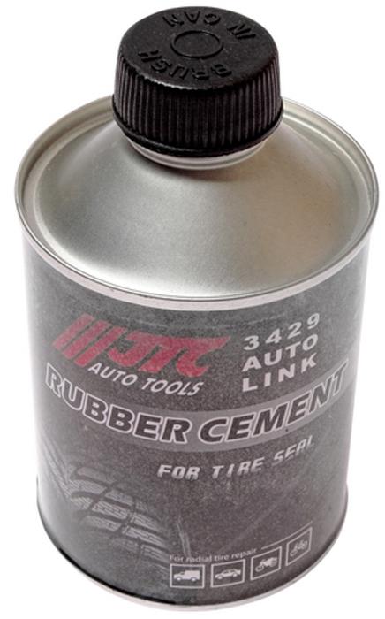 JTC Клей резиновый для ремонта автомобильных шин. JTC-3429JTC-3429Компоненты: толуол, натуральный каучук. Используется для ремонта автошин при помощи заплат и жгутов. Состав: сольвент-нафта, легкие алифатические соединения. Объем: 250 мм. Количество в оптовой упаковке: 100 шт. Габаритные размеры: 110/65/65 мм. (Д/Ш/В) Вес: 229 гр.