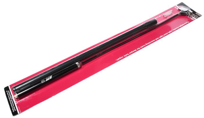 JTC Зеркало на гибком держателе с подсветкой. JTC-3702JTC-3702Ультратонкий гибкий инструмент с зеркалом, оснащен яркой подсветкой, что позволяет производить работы в углубленных, недостаточно освещенных местах. Питается от 3 батареек типа AA (приобретаются отдельно). Общая длина: 700 мм. Количество в оптовой упаковке: 12 шт. и 48 шт. Габаритные размеры: 700/100/30 мм. (Д/Ш/В) Вес: 250 гр.