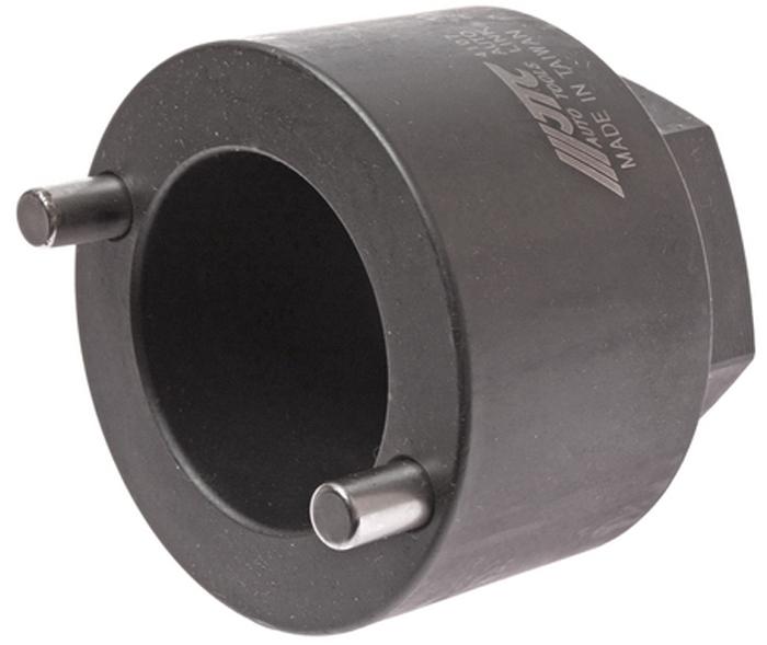 Головка JTC для гайки ступицы (MITSUBIHI). JTC-4107JTC-4107Головка для гайки ступицы MITSUBISHI JTC 4107 широко используется на станциях технического обслуживания легкового транспорта,производимого компанией Митсубиси, в частности для автомобиля Mitsubidhi Delica (2500 см3). Изделие обладает высокими прочностнымихарактеристиками, устойчиво к разрушительному воздействию коррозии, что обеспечивает его продолжительную и надежную эксплуатацию.Данное приспособление используется совместно с ручными съемно-демонтажными инструментами, например с гаечным ключом или воротком.Применяется для снятия ступичной гайки. Применение: Митсубиси (Mitsubishi) Delica 2500 см³. Габаритные размеры: 80/80/80 мм. (Д/Ш/В) Вес: 1240 гр.