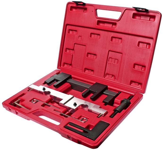 JTC Набор фиксаторов распредвала для проверки и установки фаз ГРМ (BMW двиг. N43). JTC-4143JTC-4143Применяется для установки и снятия распределительного вала и его различных элементов.Применяется для проверки и установки фаз ГРМ.Применение: Е87: 118i/120i-N43; Е90: 316i/318ii-N43; Е92/Е93: 320i-N43; Е60/Е61: 520i.Упаковка: прочный переносной кейс.Габаритные размеры: 380/300/70 мм. (Д/Ш/В)Вес: 3850 гр.