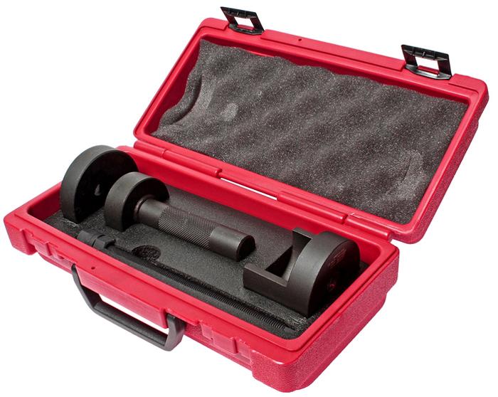 JTC Набор для снятия и установки сайлентблоков заднего подрамника (Toyota ALTIS). JTC-4164JTC-4164Применяется для замены всех сайлентблоков заднего подрамника автомобиля. Все работы выполняются прямо на автомобиле. Нет необходимости снимать подрамник. Применение: Тойота (Toyota) Altis. Упаковка: прочный переносной кейс. Габаритные размеры: 315/165/100 мм. (Д/Ш/В) Вес: 3270 гр.ПОДРОБНАЯ ВИДЕОИНСТРУКЦИЯ