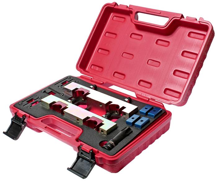 JTC Набор фиксаторов распредвала для установки фаз ГРМ (MERCEDES двиг. М270, оригинальный код 270589006100). JTC-4266JTC-4266Специально предназначен для установки распредвалов в положении ВМТ.Применение: двигатели 1.6 л. V4, А класс и В класс.Оригинальный код 270589006100.Упаковка: прочный переносной кейс. Габаритные размеры: 350/250/100 мм. (Д/Ш/В) Вес: 5000 гр.