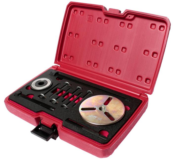 JTC Набор для снятия и установки шкива коленвала (MINI COOPER R53/W11). JTC-4293JTC-4293Специально предназначены для снятия/установки шкива коленвала.Применение: БМВ (BMW), Мини (Mini) Cooper R53/W11.Упаковка прочный пластиковый кейс.Габаритные размеры: 300/200/70 мм. (Д/Ш/В) Вес: 2260 гр.