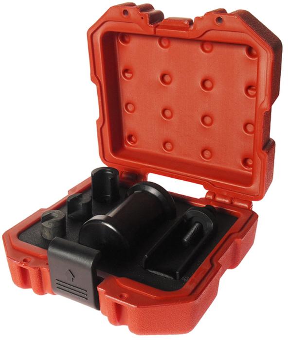 JTC Набор для снятия форсунок инжектора VW, AUDI TSI. JTC-4351JTC-4351Инструмент специально разработан для снятия форсунок на двигателях VAG.Применение: Фольксваген (Volkswagen), Ауди (Audi) 1.2T, 1.4T, 1.6T, 1.8T, 2.0T, 3.0T, 3.6T, 4.2T - FSI, TFSI, TSI. Упаковка: прочный переносной кейс.Габаритные размеры: 170/170/60 мм. (Д/Ш/В)Вес: 1500 гр.