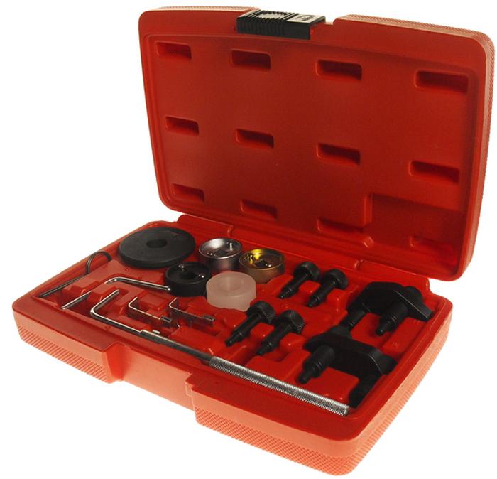 Набор автоинструментов JTC, для установки фаз ГРМ TSI, TFSI. JTC-4382JTC-4382Комплект цельнометаллических инструментов JTC, позволяющих настроить работугазораспределительных фаз двигателя. Инструменты изготавливаются в соответствии севропейским стандартом ISO 9001. Приспособления изготавливаются специально дляавтомобильных моторов типа TSI, TFSI объемом 1.8-2.0 литра. Производитель предоставляет вкомпании бокс для хранения и неограниченную гарантию качества.Используется для правильной установки фаз ГРМ.Применяется для ремонта двигателей автомобилей VAG TSI, TFSI VAG EA888 (1.8л. и 2.0л.,2006-2013 г.в.). Кода двигателей: BYT, BZB, CABA, CABB, CABD, CADA, CAEA, CAEB, CAWA, CAWB, CBFA,CCTA, CCZA, CCZB, CCZC, CDAA, CDAB, CDHA, CDHB, CDNB, CDNC, CDND, CESA, CETA, CFKA,CGYA, CJEB, CJSA, CJSB.Оригинальные номера: T10352, /1, /2, T10368, T40196, T10354, T10060A, T40011, T40098,T40267, T40271.Упаковка: прочный переносной кейс.