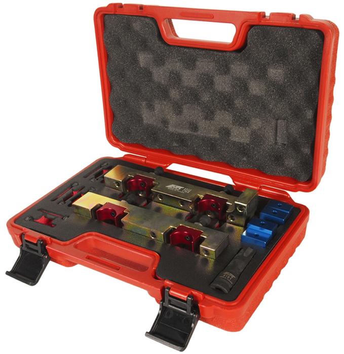 JTC Набор приспособлений для фиксации распредвала MERCEDES (M274). JTC-4413JTC-4413Набор специально разработан для фиксации распредвала MERCEDES (Мерседес) в ВМТ. Применение: 1.6L, двигатель V4, А и В класс. Двигатели: М270, М133, М274. Оригинальныи? номер: 270 589 01 6100.