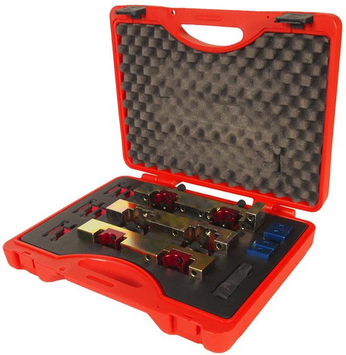 JTC Набор приспособлений для фиксации распредвала MERCEDES (M270, M274). JTC-4413SJTC-4413SНабор специально разработан для фиксации распредвала MERCEDES (Мерседес) в ВМТ. Применение: 1.6L, двигатель V4, А и В класс. Двигатели: М270, М133, М274. Оригинальныи? номер: 270 589 00 6100, 270 589 01 6100.