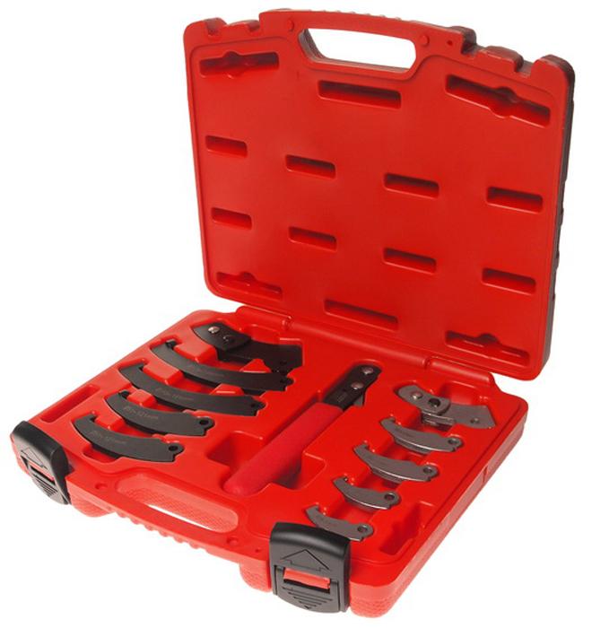 JTC Набор ключа с насадками для круглых гаек с прорезью. JTC-4455JTC-4455