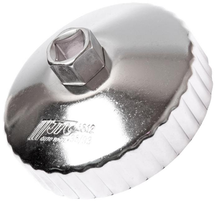 JTC Съемник масляного фильтра. JTC-4612JTC-4612Предназначен для снятия масляного фильтра в ходе проведения диагностических работ. Форма - 36-гранная чашка. Размеры: 36 граней/93 мм. Применение: Форд (Ford), Мазда (Mazda). Инструмент: 1/2, 21 мм. Количество в оптовой упаковке: 10 шт. и 100 шт. Габаритные размеры: 155/130/50 мм. (Д/Ш/В) Вес: 260 гр.