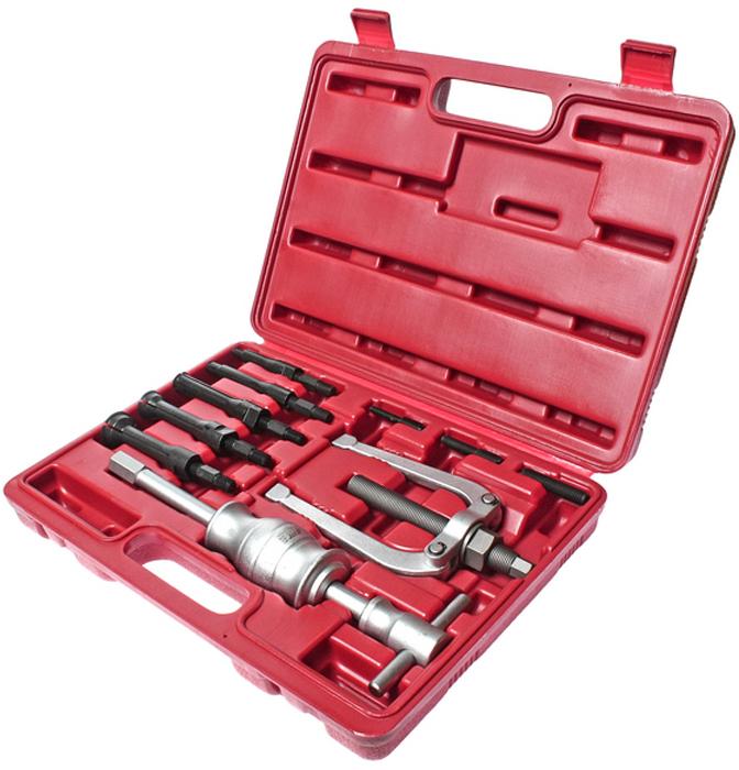 JTC Съемник подшипников цанговый. JTC-4672JTC-4672Используется для снятия подшипников с внутренним диаметром: 8-34 мм. В комплект входит:Съёмник: 62 мм (JTC-4672-E); Съёмник ударный (JTC-4672-SH); Захваты: 8-11 мм (JTC-4672-3A), 12-17 мм (JTC-4672-3B), 18-23 мм (JTC-4672-3C), 24-29 мм (JTC-4672-3D), 30-34 мм(JTC-4672-3E); Удлинители резьбы 3 шт.: 6 мм (JTC-4672-ET6), 8 мм (JTC-4672-ET8), 10 мм (JTC-4672-ET10). Упаковка: прочный переносной кейс. Количество в оптовой упаковке: 5 шт. Габаритные размеры: 345/250/75 мм. (Д/Ш/В) Вес: 3400 гр.