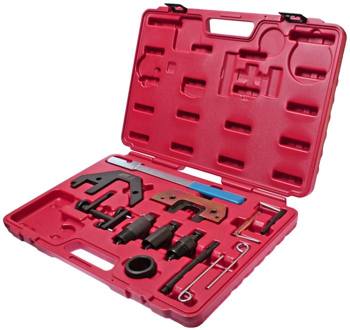 JTC Набор фиксаторов распредвала для проверки и установки фаз ГРМ (BMW двиг. М41, М47, М51, М57 с 1998 г.в.). JTC-4760JTC-4760Предназначен для установки и снятия распредвала или его различных элементов.Применяется для проверки и установки фаз ГРМ.Применение: М41, М47 TU/T2, М51, М57 TU/T2:2.0 л./3.0 л. начиная с 1998 г.в.Упаковка: прочный переносной кейс.Габаритные размеры: 450/320/60 мм. (Д/Ш/В)Вес: 3936 гр.