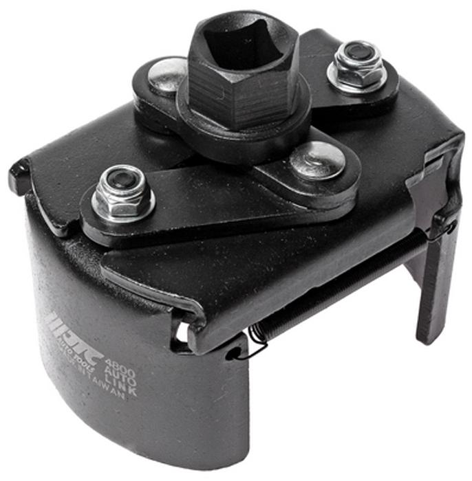 JTC Съемник масляного фильтра. JTC-4800JTC-4800Съемник масляного фильтра JTCХарактеристики Специально предназначен для быстрого снятия и установки масляного фильтра. Имеет возвратную пружину для удержания фильтра. Рабочий диапазон: 80-115 мм. Вороток 1/2 или ключ 21 мм. Габаритные размеры: 180/120/80 мм. (Д/Ш/В) Вес: 650 г.