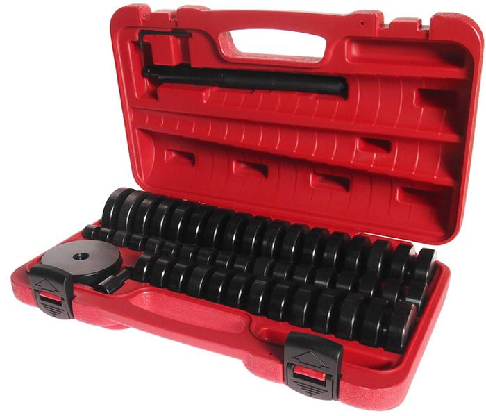 JTC Набор оправок для выпрессовки подшипников, втулок, сальников, 50 предметов. JTC-4856JTC-4856Набор представляет возможность самостоятельно сделать приспособление для удаления втулок, подобрав необходимый размер.Набор используется для выпрессовки втулок, подшипников и сальников.Размеры: 18-65 мм. с шагом 1 мм., а также 74 мм.Общее количество предметов в наборе: 50.Упаковка: прочный переносной кейс.Количество в оптовой упаковке: 2 шт.Габаритные размеры: 370/250/100 мм. (Д/Ш/В)Вес: 8000 гр.