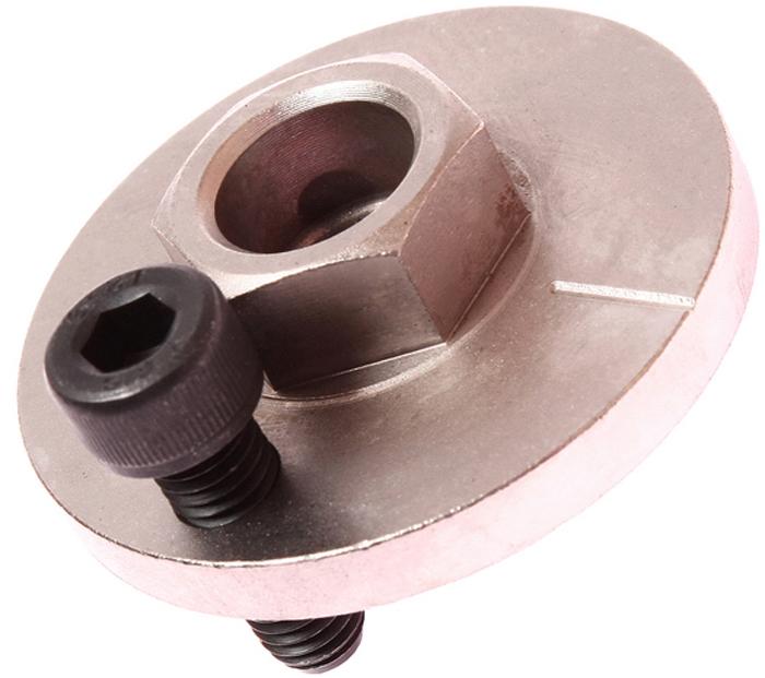 JTC Приспособление сервисное для демонтажа водяного насоса (VW T5, TOUAREG 2.5D). JTC-4862-3JTC-4862-3Может поставляться в наборе JTC-4862. Сервисное приспособление используется для доворота коленчатого вала в положение ВМТ, как правило для регулировки газораспределительного механизма дизельных двигателей, устанавливаемых на автомобили Фольксваген (Volkswagen) Touareg 2003, Transporter 2004. Оригинальный номер приспособления VAG T10225. Габаритные размеры: 80/80/20 мм. (Д/Ш/В) Вес: 145 гр.