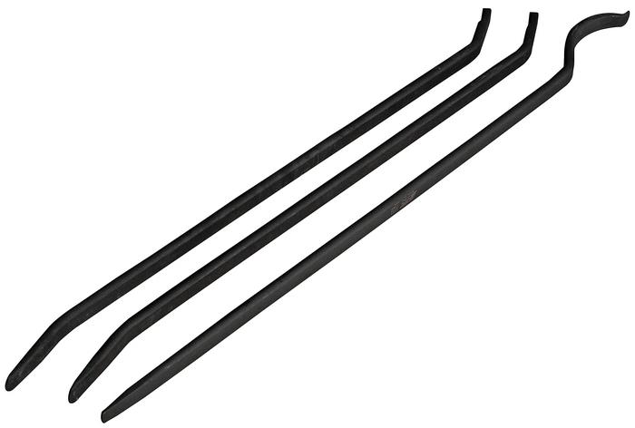 JTC Набор монтировок для шиномонтажа, 3 шт. JTC-4886JTC-4886Монтировка для шиномонтажа набор 3 предмета JTCОписание Предназначены для снятия бескамерных шин и других шиномонтажных работ. Для снятия 1 шт., общая длина 970 мм. Для установки 2 шт., общая длина 890 мм. Габаритные размеры: 1000/80/50 мм. (Д/Ш/В) Вес: 6600 г.