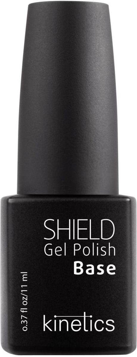 Kinetics Базовое покрытие для гель-лака Shield Base Coat, 11 мл уход за ногтями mavala защитный экран для ногтей nail shield объем 2 10 мл
