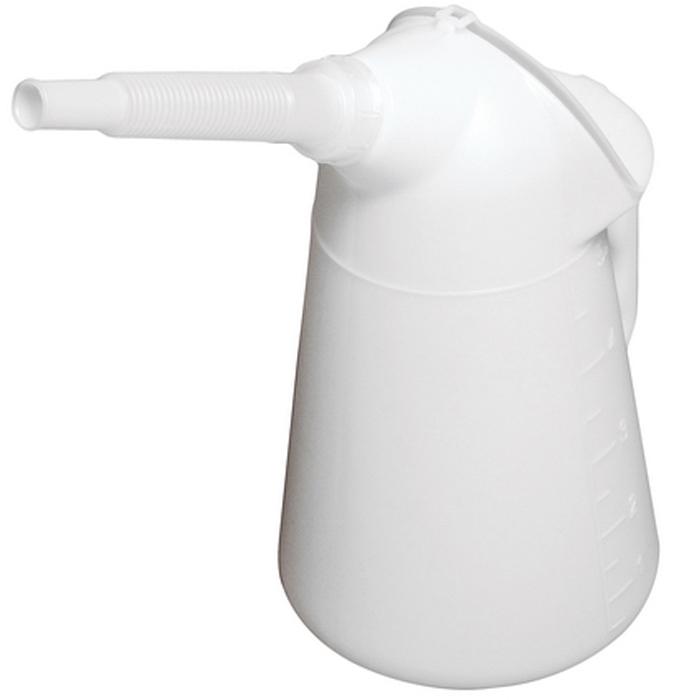 Масленка JTC, 5 л. JTC-5032JTC-5032Масленка JTC с наконечником удобна в применении, когда есть необходимость залить масло в глубоко расположенные рабочие узлы. Масленка выполнена из полиэтилена с высокой плотностью и имеет защитную крышку. Корпус устойчив к химической обработке.Высота масленки: 330 мм.Длина трубки: 170 мм.Объем масленки: 5 л.Область рабочих температур: от –50 °C до +80 °C.
