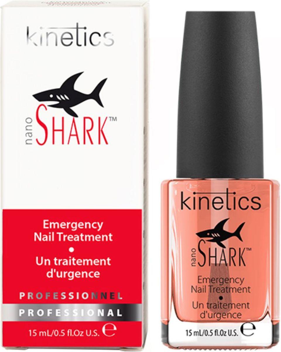 Kinetics Мгновенная скорая помощь для сильно поврежденных ногтей Nano Shark (Акула), 15 млKTR04NМгновенная помощь для поврежденных ногтей Kinetics Nano Shark - Акула. Средство формирует керамическое нано-покрытие, которое мгновенно обеспечивает необходимые условия для оздоровления ногтей. Оно не только служит барьером от вредного воздействия, но и поможет в кратчайшие сроки восстановиться ногтевой пластине. Основа K-Nano Shark - это надежная защита, интенсивный уход и восстановление. Kinetics Nano Shark можно использовать не только как базовое покрытие, но и как верхнее покрытие для лака, надолго сохраняя яркость и идеальный блеск маникюра. Уникальный нанокомплекс продлевает действие средства, даже если оно используется как базовое покрытие под лак. Служит в качестве базового слоя с улучшенной адгезией. При использовании в качестве финишного верхнего покрытия, обеспечивает защиту маникюра. Товар сертифицирован.