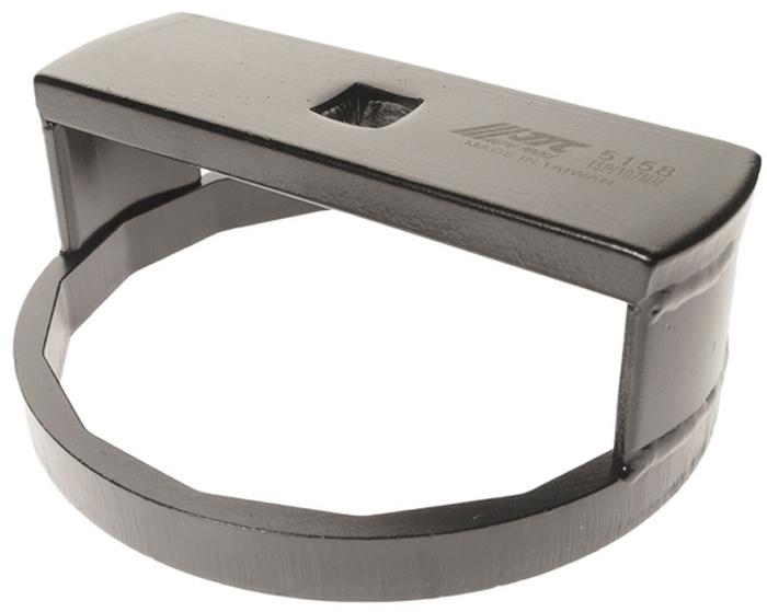 JTC Ключ для снятия масляного фильтра (VOLVO). JTC-5158JTC-5158Предназначен для снятия и установки масляного фильтра на грузовые автомобили Вольво (VOLVO).Размер: 1/2DR х 107 мм.