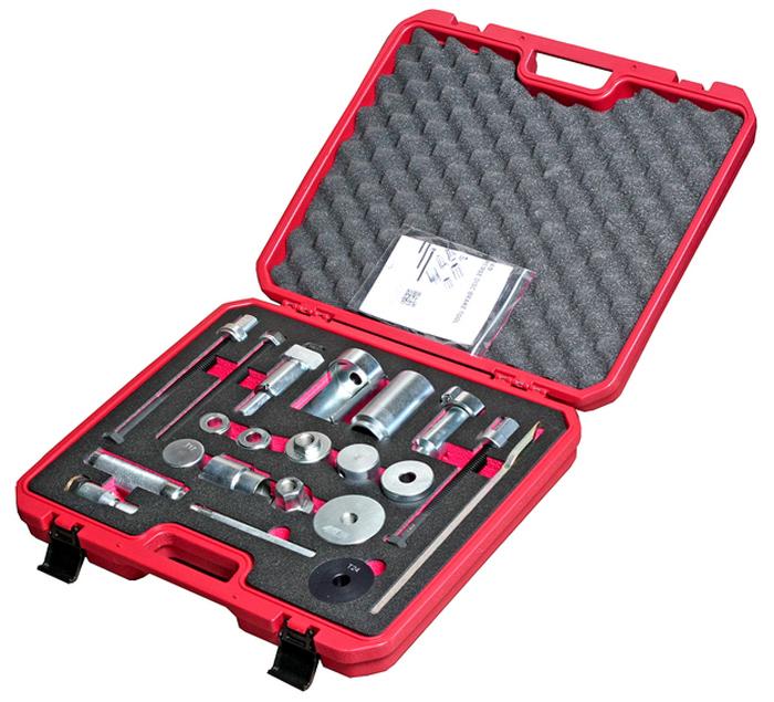 JTC Набор для замены тормозного диска и колодок дисковых тормозов Knorr-bremse серий SN6, SN7, SK6 и ADB22X. JTC-5240JTC-5240Специально предназначен для замены тормозного диска и тормозных колодок дисковых тормозов Knorr-bremse.Применяется для установки/снятия пыльника, латунной и резиновых втулок, внутренних уплотнителей.Применение: для дисковых тормозов Knorr-bremse серий SN6, SN7, SK6 и ADB22XГабаритные размеры: 480/460/145 мм. (Д/Ш/В)Вес: 11400 гр.