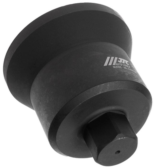 JTC Головка ступичная 6-гранная (IVECO EURO CARGO и пр.). JTC-5251JTC-5251Изготовлена из высококачественной стали, обладает высокой прочностью, предназначена для демонтажа ступичных гаек.Предотвращает скольжение.Применяется с ударным гайковертом или динамометрическим ключом, шестигранный ключ SW36.Общая длина: 117 мм.Применение: грузовые автомобили Ивеко (Iveco) EURO CARGO и пр.Габаритные размеры: 170/130/135 мм. (Д/Ш/В) Вес: 2580 гр.