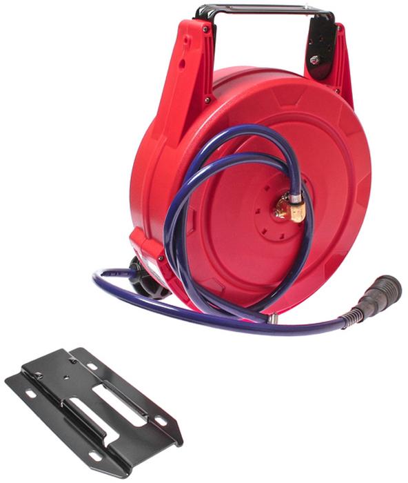 JTC Удлинитель для подачи воздуха, диаметр шланга 8 мм, длина 10 м. JTC-5647JTC-5647Полиуретановый шланг, рассчитанный на давление до 300 psi.Корпус из АБС-пластика, ударопрочный.Легкая установка (для крепления корпуса катушки понадобится только отвертка).Направляющая катушка поворачивается на 180 градусов, что значительно расширяет площадь работ.Может быть зафиксирована под углом 45, 90, 135 градусов.Длина шланга 10 м.Диаметр шланга: 8 мм, наружный диаметр: 12 мм.Габаритные размеры: 390/320/200 мм. (Д/Ш/В)Вес: 5537 гр.