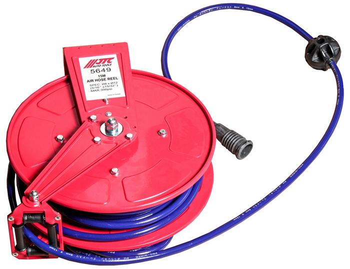 JTC Удлинитель для подачи воздуха, диаметр шланга 8 мм, длина 15 м. JTC-5649JTC-5649