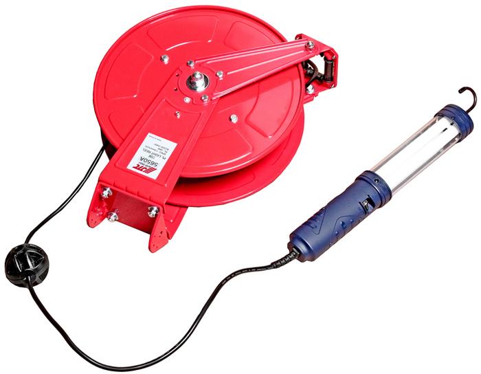 JTC Удлинитель со светильником на катушке с заземлением, провод 2 мм, длина 15 м. JTC-0AJTC-0AАвтоматическое втягивание.Удлинитель с заземлением подключается к стационарной розетке на расстоянии до 1 метра.Материал (медь) соответствует стандарту JIS.Простота установки (для крепления корпуса катушки понадобится только отвертка).Направляющая катушка поворачивается на 180 градусов, что значительно расширяет площадь работ.Может быть зафиксирована под углом 45 градусов, 90 градусов и 135 градусов.Длина провода: 15 м.Размер провода: 2.0 мм.х3С.Нагрузка: 15A/AC100~240V.Габаритные размеры: 510/390/210 мм. (Д/Ш/В)Вес: 9320 гр.