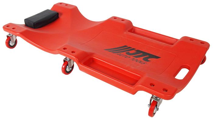 Лежак ремонтный JTC, на колесах. JTC-5811JTC-5811Высококачественный эргономичный пластиковый лежак удобен в работе. Колеса дают возможность автомеханику свободно передвигаться под автомобилем. Грузоподъемность: 158 кг. Размеры лежака: 1030 x 470 x 120 мм.