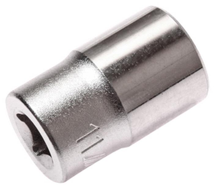 Головка торцевая JTC, 6-гранная 1/4 х 11 мм, длина 25 мм. JTC-22511JTC-22511Головка торцевая JTC изготовлена из высококачественной хром-ванадиевой стали и предназначена для монтажа/демонтажа резьбовых соединений. Имеет 6 граней и метрический размер. Размер головки: 1/4х11 мм. Общая длина головки: 25 мм.