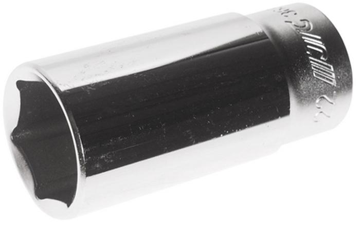 """JTC Головка глубокая 6-гранная3/8 22 мм, длина 63 мм. JTC-36322JTC-363226 граней, метрический размер.Диаметр: 22 мм., ширина - 29.9 мм.Общая длина: 63 мм.Размер: 3/8"""" Dr.Изготовлена из закаленной хром-ванадиевой стали.Габаритные размеры: 63/30/30 мм. (Д/Ш/В)Вес: 175 гр."""
