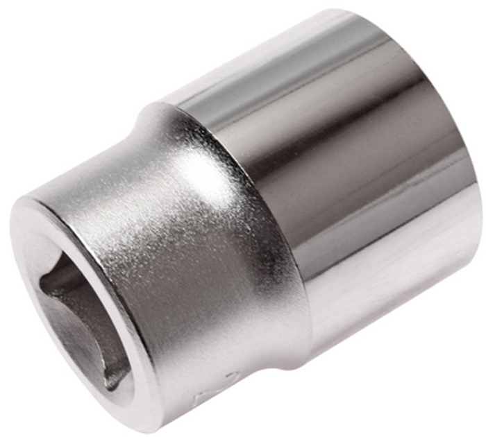 """JTC Головка торцевая 6-гранная 1/2 х 22 мм, длина 38 мм. JTC-43822JTC-438226 граней, метрический размер.Изготовлена из закаленной хром-ванадиевой стали.Размер: 1/2""""х22 мм. Длина: 38 мм.Количество в оптовой упаковке: 10 шт. и 200 шт.Габаритные размеры: 38/30/30 мм. (Д/Ш/В)Вес: 98 гр."""