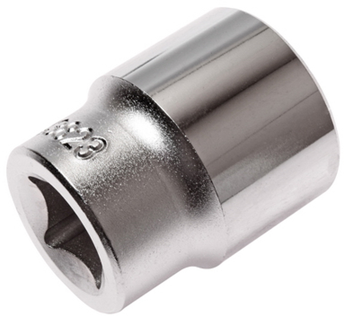 Головка торцевая JTC, 6-гранная 1/2 х 23 мм, длина 38 мм. JTC-43823JTC-43823Головка торцевая JTC с насадкой изготовлена из закаленной хром-ванадиевой стали. Размер: 1/2 х 23 мм. 6 граней, метрический размер.Длина: 38 мм. Габаритные размеры: 38 х 31 х 31 мм. (Д/Ш/В). Вес: 98 гр.