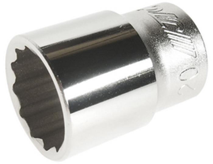 JTC Головка торцевая 12-гранная 1/2 х 20 мм. JTC-43920JTC-43920Изготовлен из высококачественной хром-молибденовой стали.Размер: 1/2х 20.Диаметр: 20 мм.Длина: 38 мм.Количество в оптовой упаковке: 10 шт. и 200 шт.