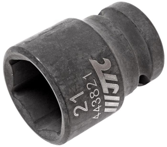 """JTC Головка торцевая ударная 6-гранная 1/2 х 21 мм, длина 38 мм. JTC-443821JTC-4438216 граней, метрический размер. Изготовлена из высококачественной хром-молибденовой стали. Размер: 1/2""""х21 мм.Общая длина: 38 мм. Количество в оптовой упаковке: 10 шт. и 200 шт. Габаритные размеры: 38/25/25 мм. (Д/Ш/В) Вес: 92 гр."""