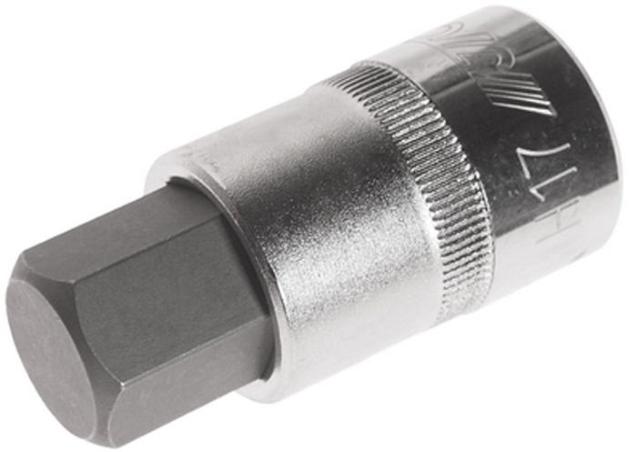 Головка JTC, с насадкой HEX 1/2 х H17, длина 55 мм. JTC-45617JTC-45617Головка с насадкой используется в автомобильных и шиномонтажных мастерских для быстрого и бережного демонтажа/монтажа различных резьбовых соединений. Материал оснастки - закаленная CrV сталь, обеспечивает ей высокую прочность, и, как следствие, продолжительный рабочий ресурс. Обладает небольшими размерами и низким весом, что удобно при хранении и транспортировке.